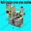 Multi-function stainless steel oil press