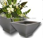 T-fiberglass flower pot P14