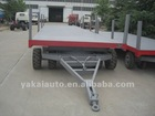 agricultural and farming industriy trailer tractor towing transportation trailer full trailer