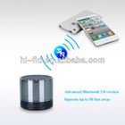 Mini Portable Subwoofer Wireless Speaker With Metal Case
