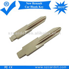 New Renault car blade key,professional making,international standard dimention,brass material
