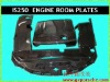 Carbon Engine Cover / Carbon Engine Room Plate for LEXUS IS250