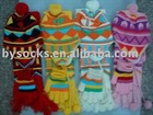 Fashion Knitted acrylic Beanies for baby