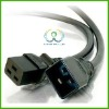 6' FT PC Computer Monitor Power Cord AC Extension Cable SS-CB021 Extension Cable