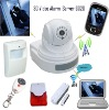 WCDMA video kamera alarmu PIR senzor
