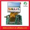 3.5inch TFT-LCD monitor driver board