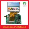 3.5inch TFT-LCD monitor driver board