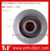 Excavator engine support parts for PC200-5, Excavator rubber cushion 20Y-01-12210 20Y-10-12221