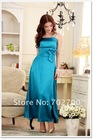 C3221cheap silk long evening dress fashion 2012