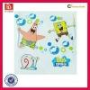 Waterproof lotion vinyl sticker/label printing