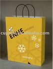 Full color printed,white/colorful paper bag