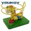 giraffe intelligence small wooden bead toys