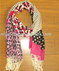 2011 plain dyed cotton scarf