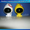 3d pvc dog money bank for children
