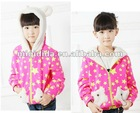 2012 Newest Childen Cut Coat Beautiful Lovely Baby Girl Christmas Clothes Wholesale/Retail