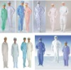 Antistatic clothes with hats,Industrial safety clothes