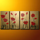 Leather Flower Painting