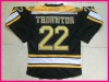 Hot Sell Ice hockey jersey 22 Shawn Thornton Black jersey name and number are sewn on size48--56