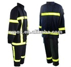 fire protective suit of fireproof clothing