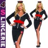 Ladies military costume, Sexy police fancy dress, sexy Ladies lingerie