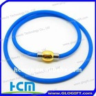 New design Silicone titanium energy necklace