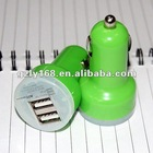 LY-1002 high quality usb car charger for iphone