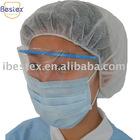 Disposable face shield visor