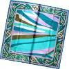 2011 New Style Print 100% Silk/ Cotton scarf
