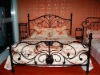 2012 New style bed room furniture of wrought iron design