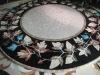 Stone mosaic table
