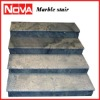 sky blue marble stair railing indoor stair railings