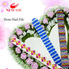 design nail file/hot sell gelitter nail file