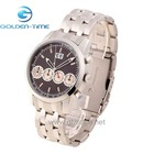 fashion stainless steel watch unique dial design for mens