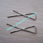 32mm X Shape Metal Handsome Shirt Clip with Flat Bar