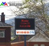 Australia P10 Outdoor message Full color led display