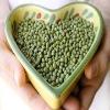 Chinese green mung beans