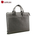 Top grian leather briefcase man bag