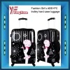 2012 trolley hard case luggage/abs pc film trolley luggage/ABS carry-on luggage