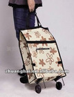 non woven folding shopping trolley bag