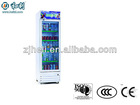 2012 hot sell soft drink glass display cooler
