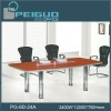 PG-9D-24A Simple mahogany wood conference table