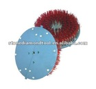 Red Filaments Round Abrasive Brushes