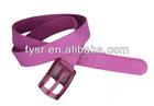 2013 fashion silicone jelly woman belt/wholesale fashion belts