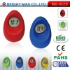 2012 new egg shape digital multifunction time date display touch vibration lcd alarm clock