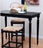 Dining room bar stool and table