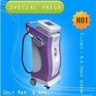 e-light equipment with 7 filters for hair removal with CE