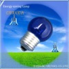 Incandescent Bulb blue color g45 a19