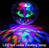 led full color rotating lamp for Christmas lights