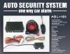 CAR ALARM SYSTEM(one way/two way available)