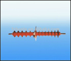 10-110kv composite insulators wall bushing
